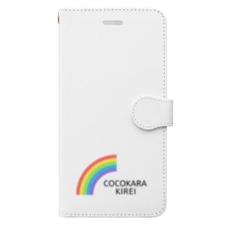 [公式] COCOKARA KIREI Book-style smartphone case