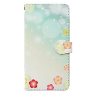 難波津に Book-style smartphone case