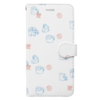 SHINJU-FIVE:JapaneseAnimals Book-style smartphone case