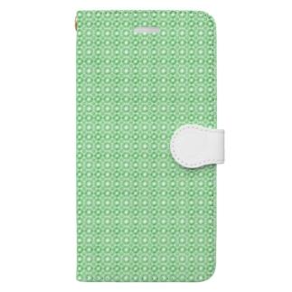 封筒地紋(万華鏡:01) Book-style smartphone case