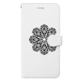 まんだらアート004 Book-style smartphone case