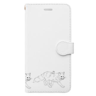 キツネライダー2 Book-style smartphone case