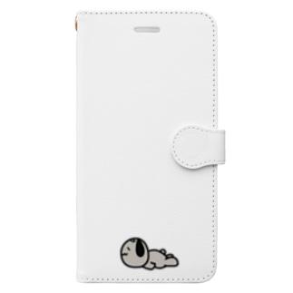 はげ犬くんぐでぐで Book-style smartphone case