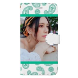 ジャスミン風あびー Book-style smartphone case