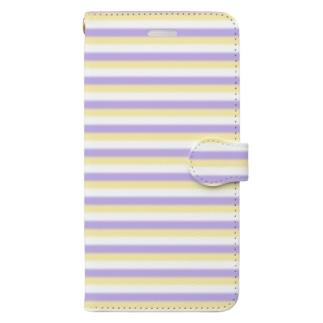 【COLOM.】コロ。Sea and Tea...スマホケース Book-style smartphone case