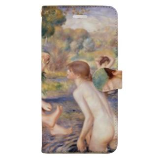 大水浴図 / ルノワール Book-style smartphone case
