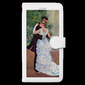 Art Baseの都会のダンス / ルノワール Book-style smartphone case