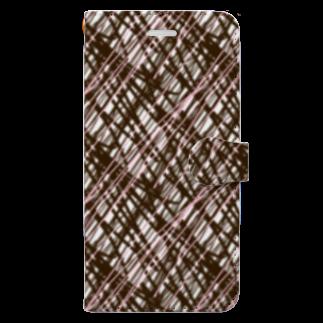 AmanoLokiの例のチョコ Book-style smartphone case