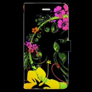 まりものスマホケース手帳型 Book-style smartphone case