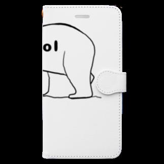 Eatn-kkのCool bear Book-style smartphone case