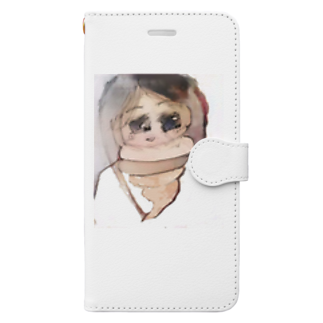 A-craft工房のううこ Book-style smartphone case