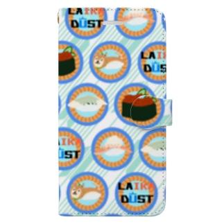 寿司松模様 Book-style smartphone case