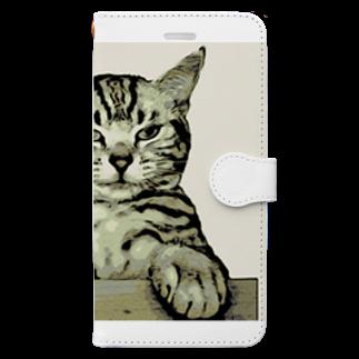 にゃんたみ屋の物持ってきてからやなかったら金払わん! Book-style smartphone case