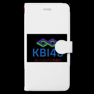 KBI48SHOPのKBI48ブラックタグバージョン Book-style smartphone case