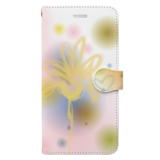 St.SKの山ノ花 Book-style smartphone case