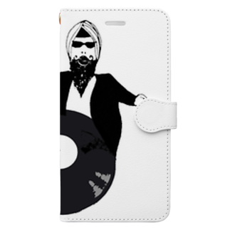Botchy-Botchy (ボチボチ)のBollywood records Book-style smartphone case
