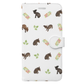 Baby Tapir Book-style smartphone case