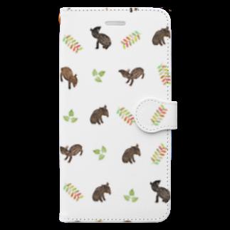 大原 司朗のBaby Tapir Book-style smartphone case