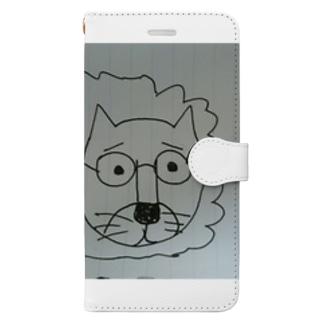 ストレスを感じたときの俺 Book-style smartphone case