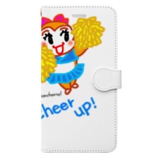 モンチーノ!チアリーダー Book-style smartphone case