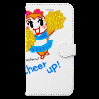 wakakusa若草のモンチーノ!チアリーダー Book-style smartphone case
