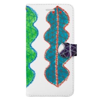 ツチノコ Book-style smartphone case