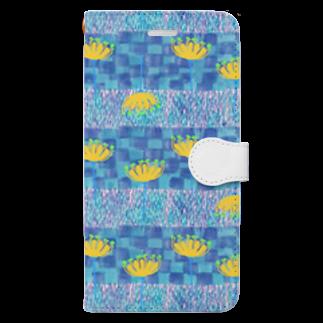 KOKaKのあぜみち Book-style smartphone case