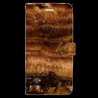 mnの鰻 Book-style smartphone case