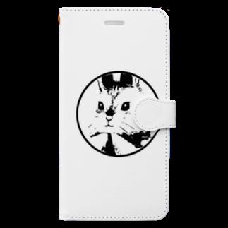 RaN୨୧の名前無しのうさぎさんのみ🎶 Book-style smartphone case
