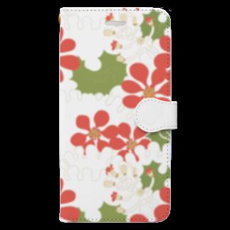 KOKaKのつわぶき Book-style smartphone case