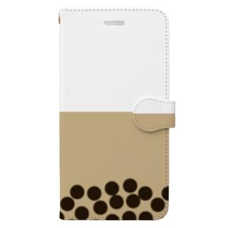 タピオカ2 Book-style smartphone case