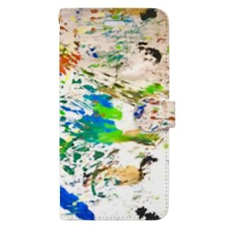 カラフル2 Book-style smartphone case