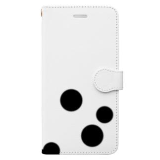 タピオカ Book-style smartphone case