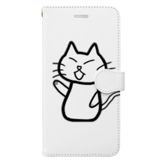 CAT of DUTY Book-style smartphone case