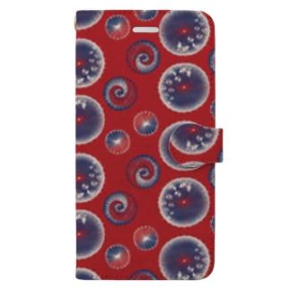 【日本レトロ#15】和傘 Book-style smartphone case