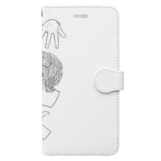 戻らないモノ Book-style smartphone case