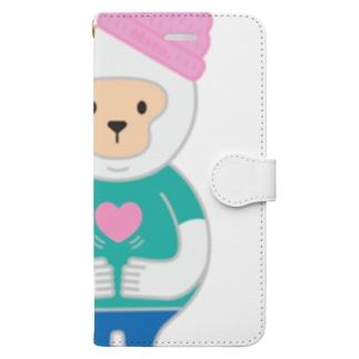 優しさバイブレーション Vo.1 Book-style smartphone case