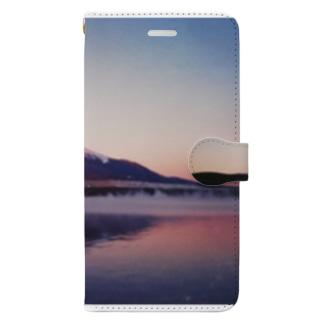 あかふじ 君 Book-style smartphone case