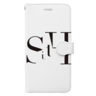SitH LOGO(Plane) Book-style smartphone case