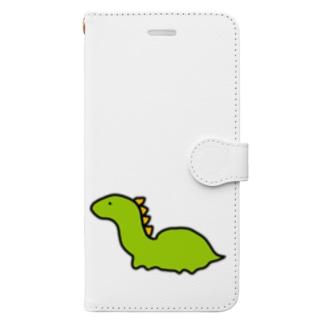 ゆるいきょうりゅう Book-style smartphone case