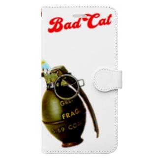 BAD CAT 発破 Book-style smartphone case