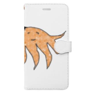 水草のハンディモップくん13 Book-style smartphone case