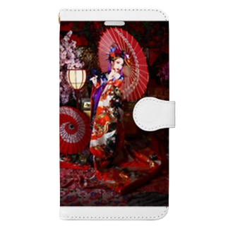 あやめたん Book-style smartphone case