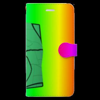 水草のMAPたん3 Book-style smartphone case