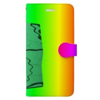 水草のMAPたん4 Book-style smartphone case