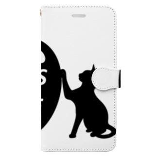 乃舞のNO CATS NO LIFE Book-style smartphone case