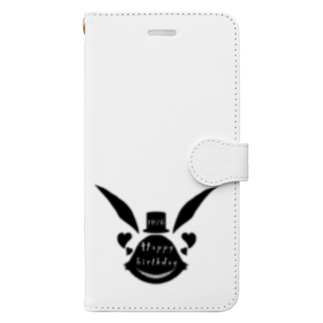 hoshimaruの不思議な兎 Book-style smartphone case