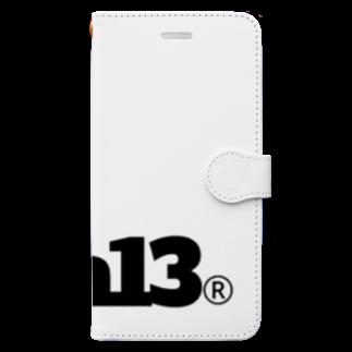 aubergのkava13thANNIVERSARY Book-style smartphone case