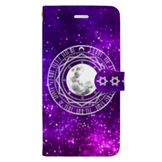 Lunatic MOONのMOON MAGIC CIRCLE Book-style smartphone case