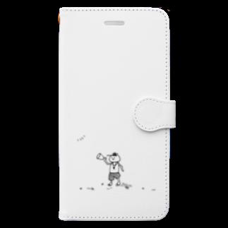 なるのひと夏の時給 Book-style smartphone case